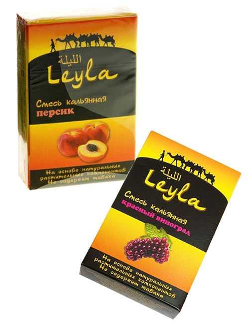 Безникотиновая смесь для кальяна Leyla
