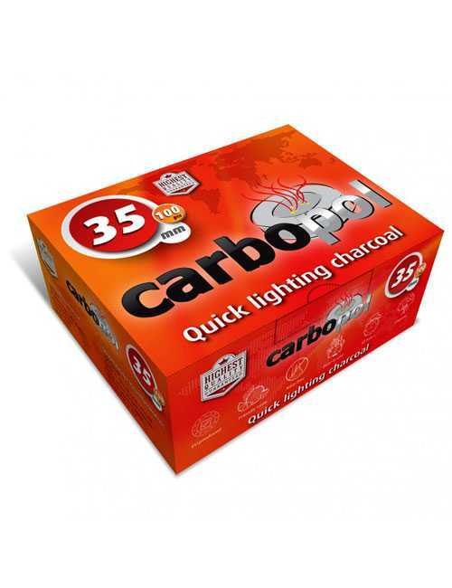 Уголь для кальяна Carbopol 35 mm