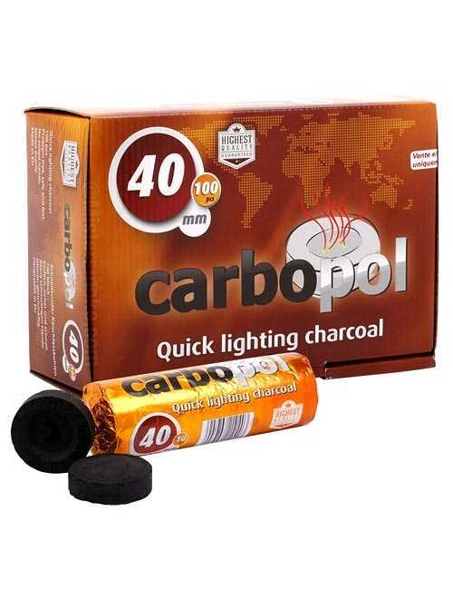 Уголь для кальяна Carbopol 40 mm