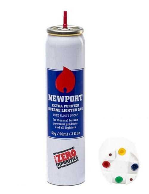 Газ для зажигалок Newport (90 мл.)