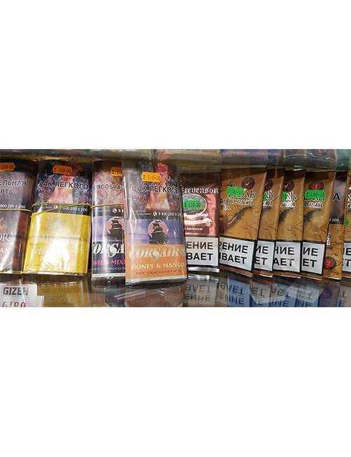 Трубочный табак в ассортименте