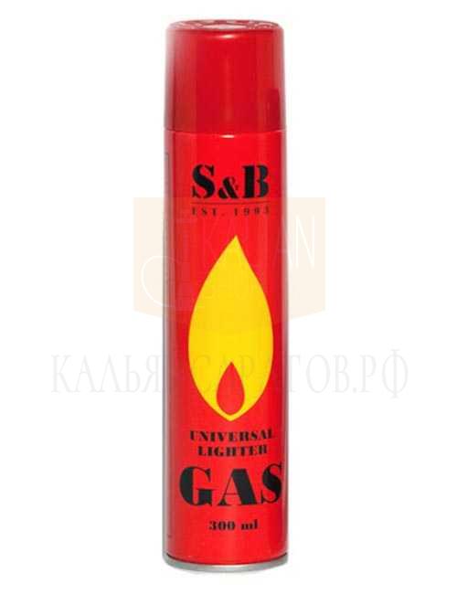 Газ для зажигалок S&B (300 мл.)