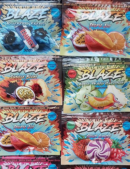 BLAZE табак для кальяна купить в Саратове
