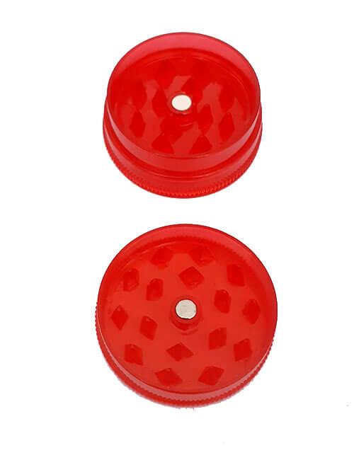 Гриндер красный пластиковый