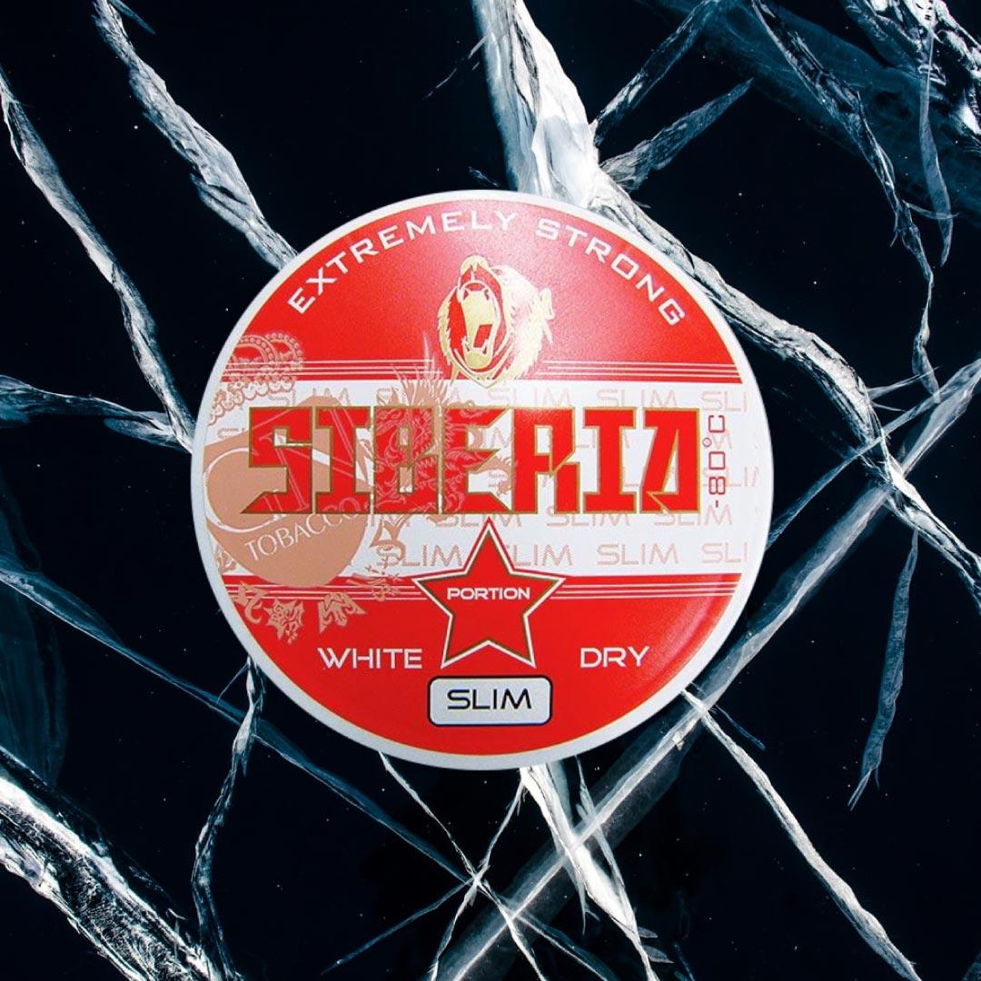 Табак жевательный SIBERIA WHITE DRY Slim