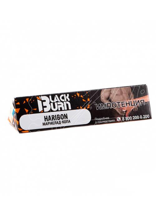 BLACK BURN табак для кальяна купить в Саратове