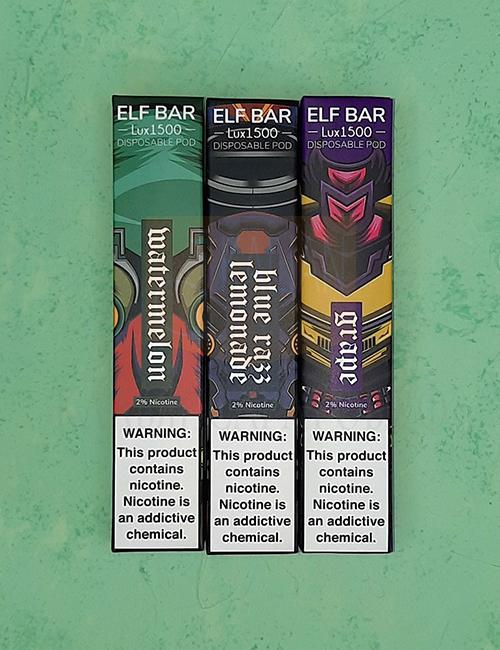Одноразовый испаритель Elf Bar Lux 1500