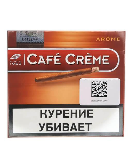Купить в Саратове СИГАРИЛЛЫ CAFE CREME AROME