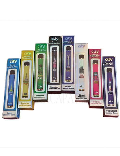 Одноразовые электронные сигареты City Highway купить в Саратове